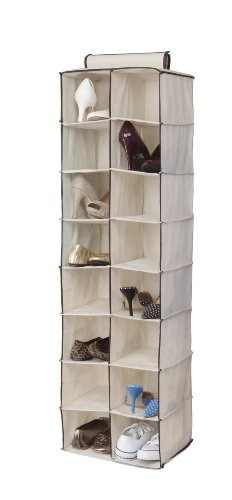Kennedy Home Collection 5168 16-Pocket Hanging Shoe/Purse Organizer, Colors May Vary