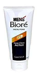 Mens Biore Deep Clean Action - Tiefe und intensive Porenreinigung