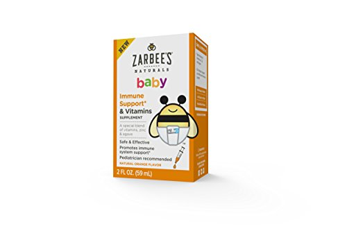 Zarbee's Baby Immune Support and Vitamins, 2 Fluid Ounce