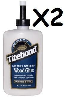 2x-titebond-8oz-237ml-no-run-no-drip-molding-trim-wood-glue