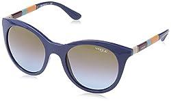 Vogue Gradient Women'S Sunglasses - (0Vo2971S23254850 49. 3 Azure Grad Pink Grad Brown)