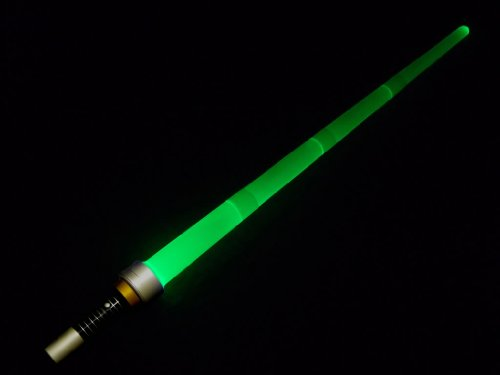 Extending/Retracting Star Wars Style LED Lightsaber / Laser Sword - 36