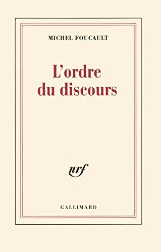 L'ordre du discours - Michel Foucault