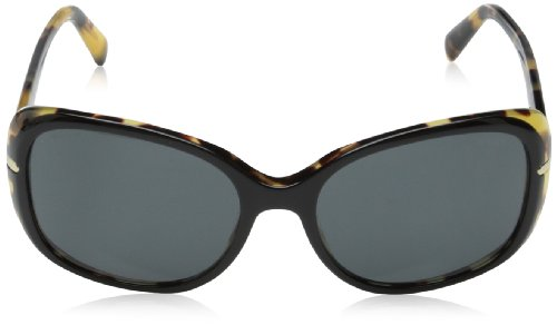 prada Prada 08OS NAI1A1 Black and Tortoise 08Os Butterfly Sunglasses Lens Category 3