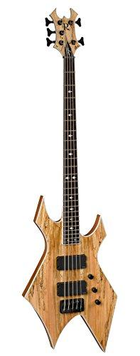 B.C. Rich Ps5Ws 5-Strings Bass Guitar, Spalt Maple