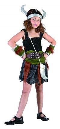 Imagen 1 de Childrens Viking Girl Fancy Dress Costume - Small Size (disfraz)