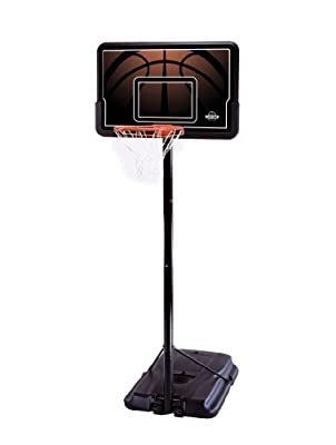 90040 Lifetime Adjustable Height 44in Backboard Portable Basketball System