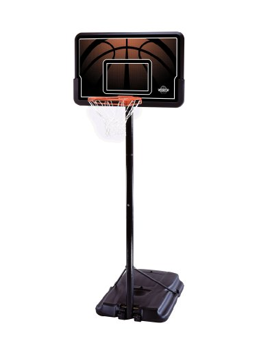Lifetime 90040 Height-Adjustable Portable Basketball System with 44-Inch Backboard