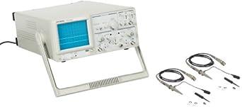 GW Instek GOS-620 Analog Oscilloscope with 2 channel, 20MHz Bandwidth