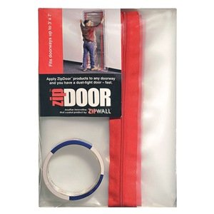Zipwall Zds Zip Door Standard Doorway Dust Containment Kit