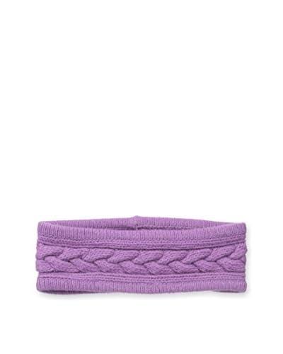 Portolano Women's Cashmere Headband, Bora Bora Purple