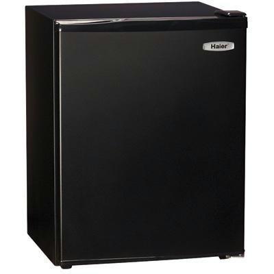 Haier HSB03BB Compact 2-2/3-Cubic-Foot Refrigerator/Freezer, Black