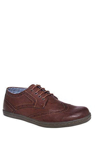 Men's Nick Brogue Low Top Sneaker