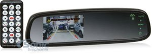 Boyo 4.3 OE style rear view mirror monitor with compass & temperature from The Rear View Camera Center