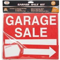 amazon com garage sale signs an tags 2 signs 2 arrows 6 sale price tags for yard sale