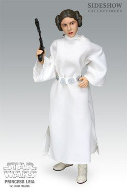 [Star Wars Princess Leia 12-Inch Action Figure by Sideshow] (Authentic Princess Leia Costumes)