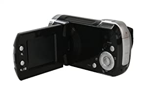 "Vivitar DVR808HD-BLK Digital Video Camcorder - 8.1MP, HD, 1.8"" LCD, 4x Zoom from Vivitar"