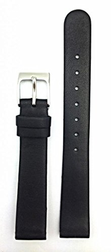 Newlife Black, Flat, Soft Leather With Round End 14Mm