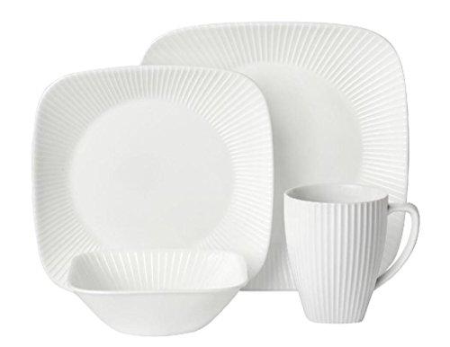 Corelle Square Round 16-Piece Dinnerware Set