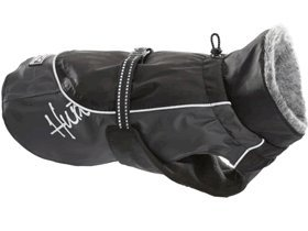 Hurtta Pet Collection Winter Jacket, 33-Inch Length, 26-30-Inch Neck, 40-44-Inch Chest, Black