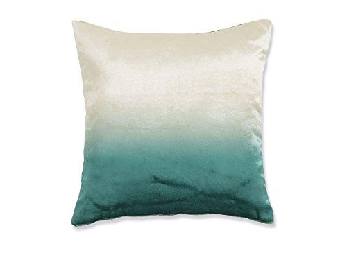 Textilhome - Funda de Cojín TEXTURA 03- Medida 45x45 cm - Color Azul