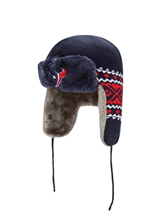 NFL Houston Texans Team Trapper Knit Cap