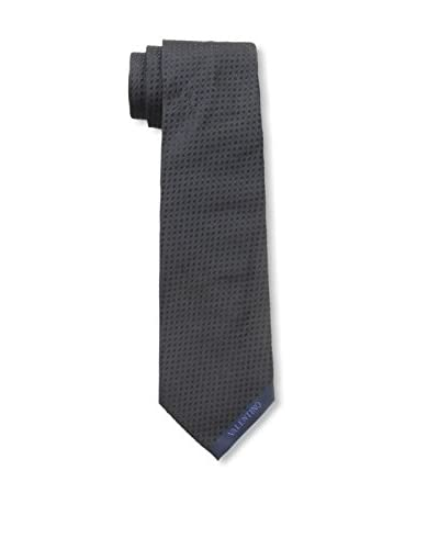 Valentino Men's Pin Dot Tie, Dark Navy