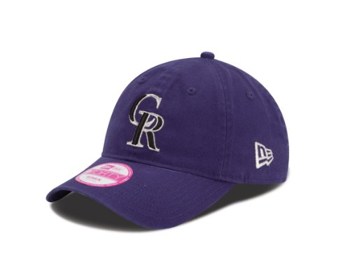 MLB Colorado Rockies Women's Essential 9Forty Adjustable Cap at Amazon.com