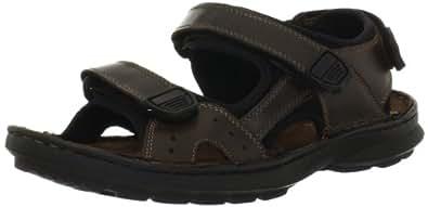 Clarks Mens Swing Away Sandal Brown Size 8