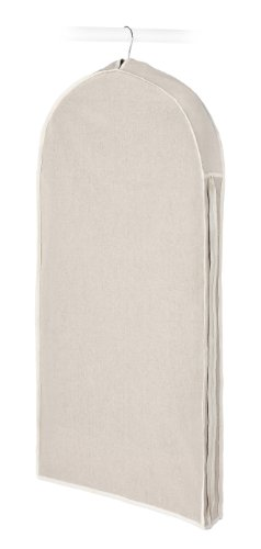 Whitmor 6082-2716 Natural Linen Soft Storage Garment Bag