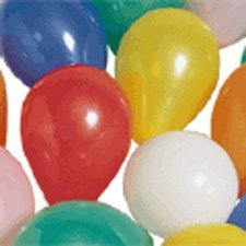 "US Toy Helium Balloons (144 Piece), 9"", Assorted Color - 1"