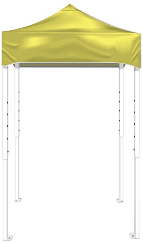 Kd Kanopy Ps25Y Party Shade Steel Frame Indoor/Outdoor Portable Canopy, 5 By 5-Feet, Yellow