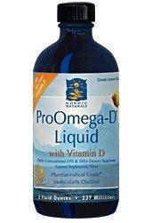 Nordic Naturals(NO2) - ProOmega-D Liquid w/Vitamin D 8 oz