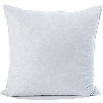 "Set Of 2 - 18 X 18""- 95% Feather 5% Down Pillow Insert - Exclusively By Blowout Bedding"