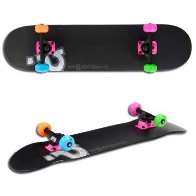 Enuff Neon Logo Complete Skateboard - Black
