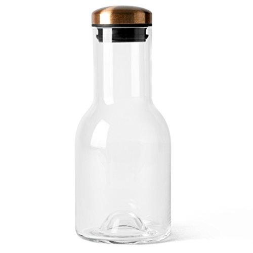 Menu Wasserflasche 0,5L mit Kupferdeckel