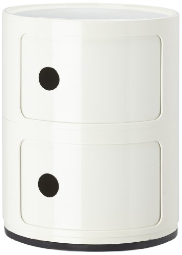 Kartell-496603-Container-Componibili-wei