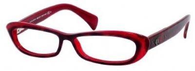 Alexander McQueenAlexander Mcqueen Eyeglasses 4181 0EV0 00 in Havana Red