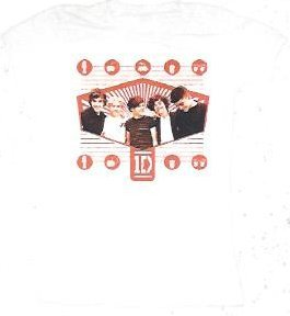 1d One Direction Radiant Hexagon Juniors T-shirt