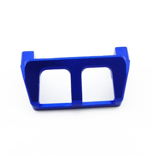 Atomik RC Alloy Servo Saver 1:16 Traxxas Slash 4X4 + Other TRX Models - Blue - Replaces Part TRA7037 - 1