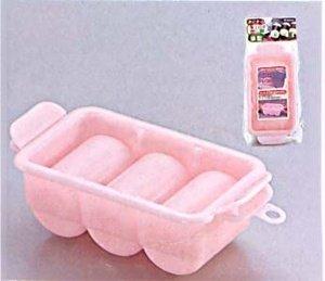 1 X Sushi Press Nigiri Rice Mold Maker 3 Rolls Pink #0534 (Nigiri Press compare prices)