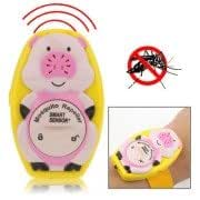 Watch Type Pig Shaped Ultrasonic Mosquito Repeller