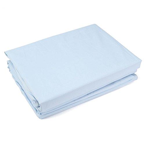 """4Pc Microfiber Bedding Sheet Set Light For Full (81"""" X 94"""")Blue 13005934 front-371066"""