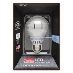Led Advanced Light Bulbs A-19, 60 Watts, Cool
