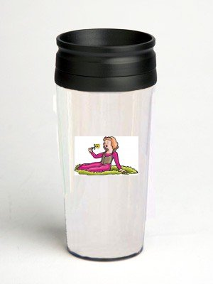 16 oz. Double Wall Insulated Tumbler with fragrance - Paper Insert