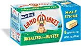 LAND O LAKES BUTTER UNSALTED SWEET CREAM 16 OZ PACK OF 2