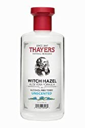 Thayers- Witch Hazel with Aloe Vera Unscented Toner 12 oz
