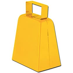 Cowbells (yellow) Party Accessory (1 count)