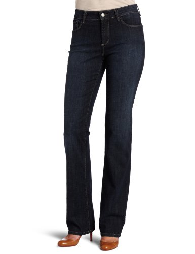 Not Your Daughter's Jeans Women's Marilyn Straight Leg Button Closure Jean, Oak Meadow, 14