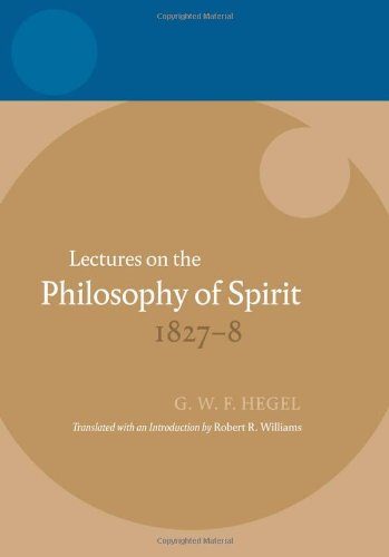 Lectures on the Philosophy of Spirit 1827-1828